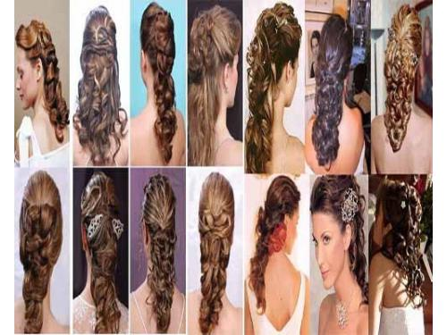 Variedad en peinados