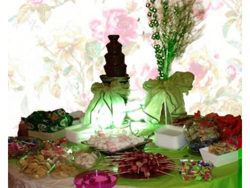 Gran variedad de dulces