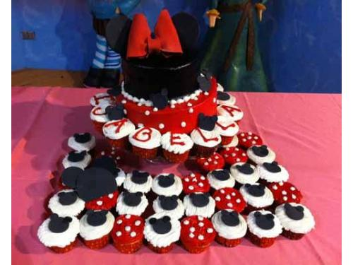 Cupcakes de minnie