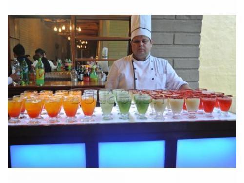 Barra de bebidas para tu boda