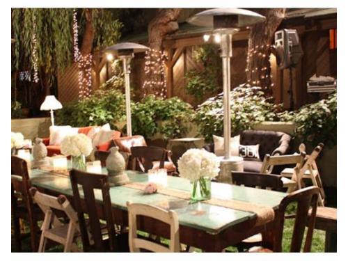 Elige el mobiliario para tu boda