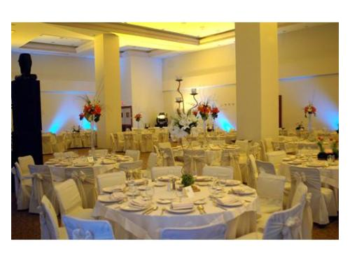 Tu banquete de boda en el salón del hotel