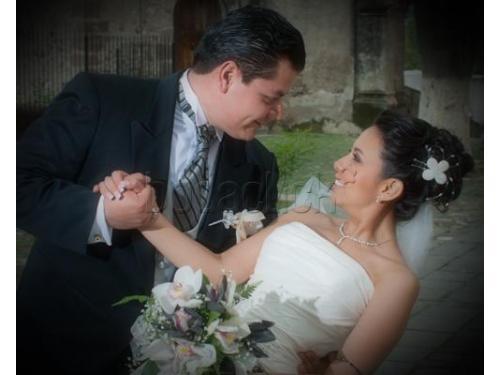 Fotos de los recién casados
