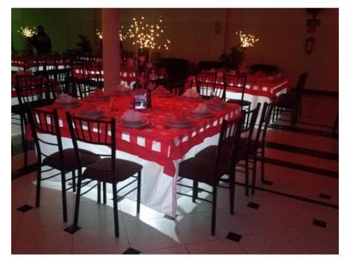 Mesas con iluminación propia