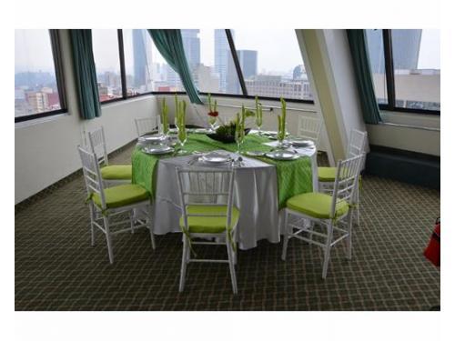Montaje tiffany con tonos verdes