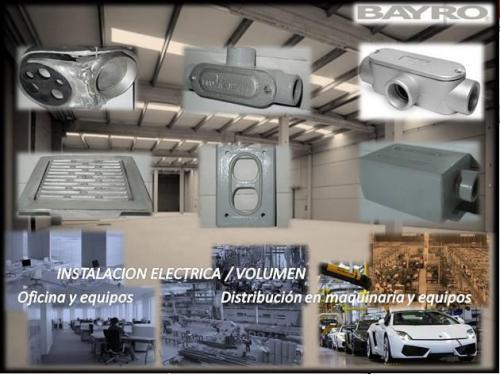Material Electrico Alta Calidad/ 100% Aluminio
