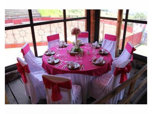 Mobiliario para banquete