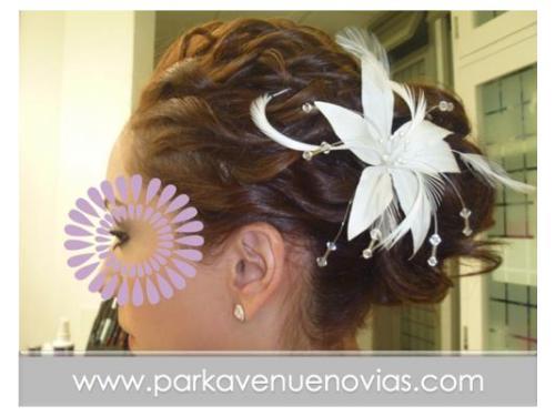 Lindo peinado para una boda de dia en puebla