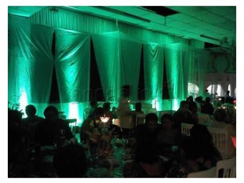 Iluminación ambiental para tu boda
