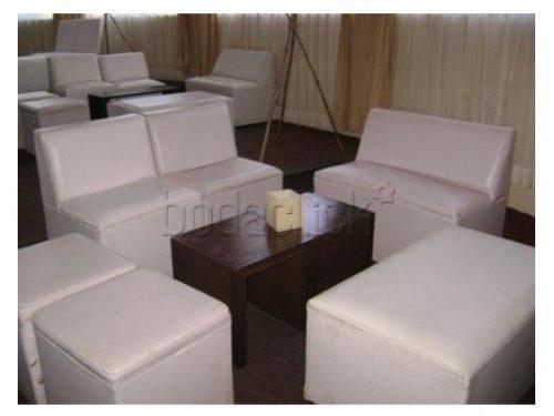 Mobiliario lounge para tu boda