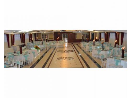Vista panorámica del salón