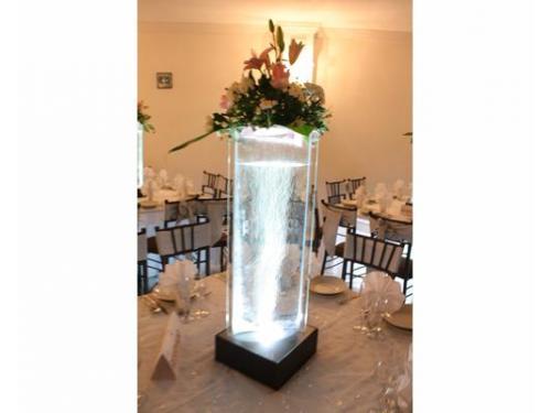 Iluminación perfecta en mesas