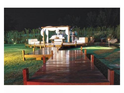 Deck jardín