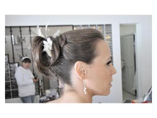 Peinado de novia original
