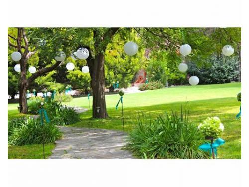 Amplios jardines para tu boda