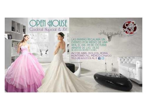 Open house 28 octubre de 2013 a partir de las 18:30 horas