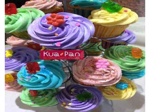 Cupcakes de frosting