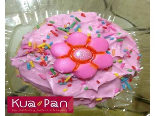 Cupcake de flor