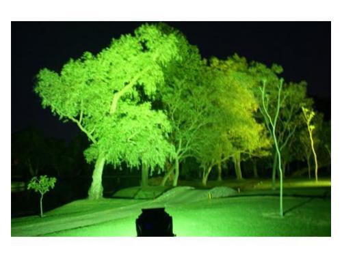 Iluminación para eventos de noche