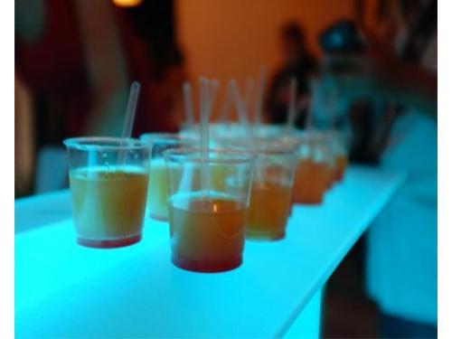 Un shot de bebida