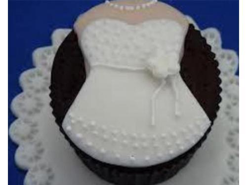 Cupcake novia