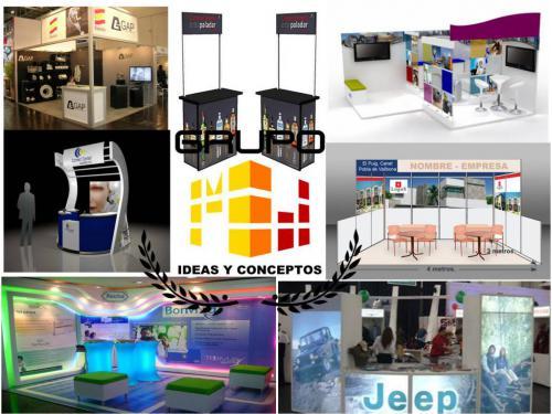 Fabricación de stands, puntos de ventas, demmos y exhibidores
