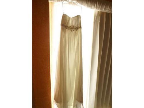 Un vestido de novia hermoso