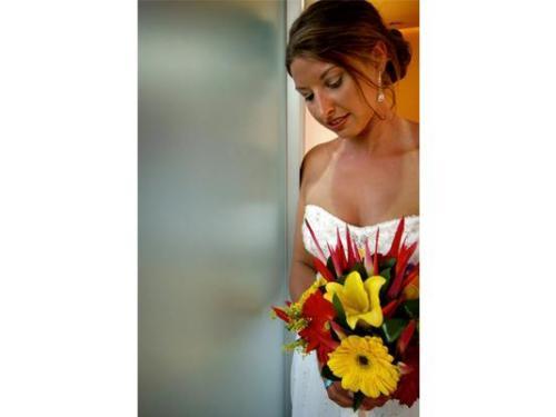Los últimos momentos de la novia antes de la misa
