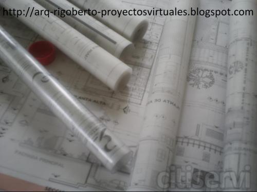 Dibujo de planos arquitectónicos calidad profesional