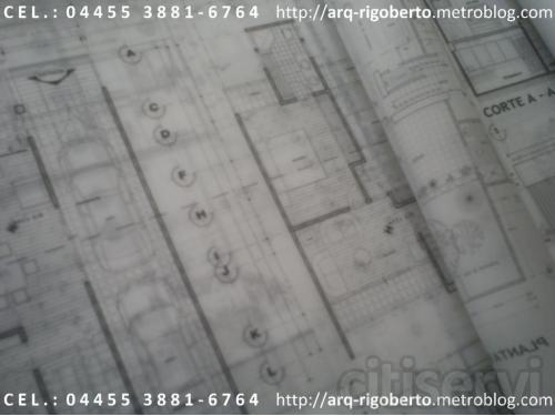 Dibujo de Planos Arquitectonicos de Casa habitacion entrega a domicilio de planos impresos a escala sin ningun costo adicional