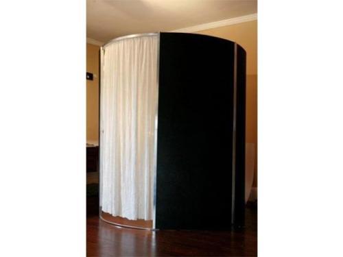 Cabina de fotos negra