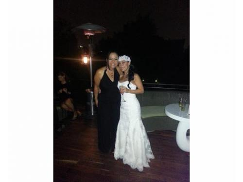 Elegante novia