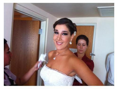 Maquillaje y peinado para novias