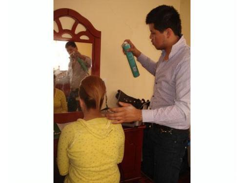 Fijando tu cabello