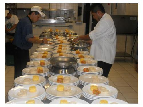 Expertos en banquetes