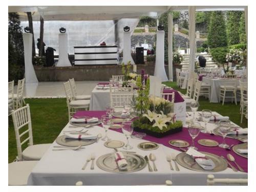 Elige el mobiliario en tu boda