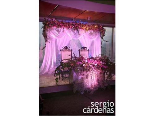 Sergio cárdenas decorador y producto de eventos