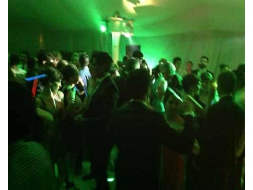 Escenarios de luz para bailar
