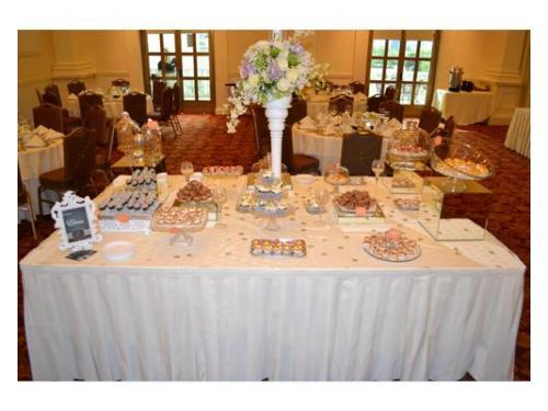 Hermosa mesa de postres