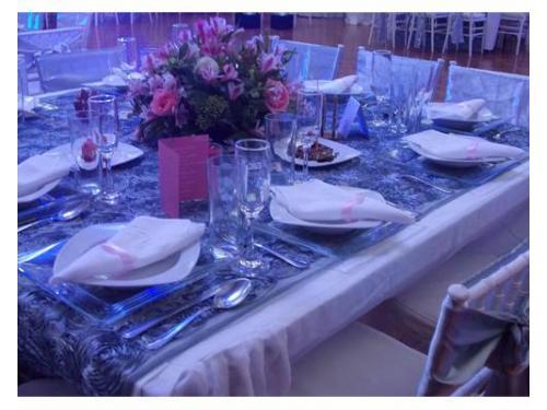 Diseño de centros de mesa