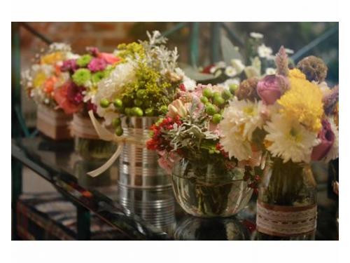 La mejor ambientación con flores