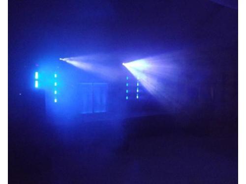 Iluminación y música