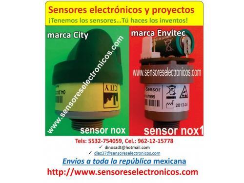 Celdas De Carga Tipo ´S´, Sensor De NOX De Las Marcas Envitec Y City, también contamos con Sensor De Oxigeno. Y Muchos productos más…