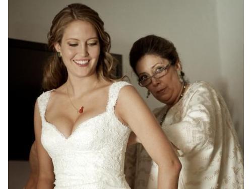 Sesión arreglo de la novia