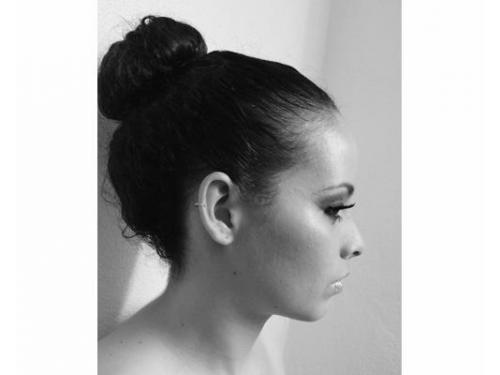Peinado con chongo