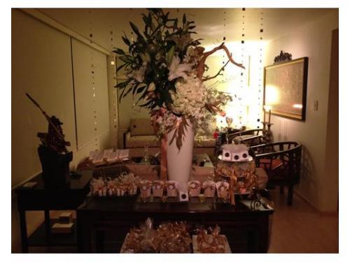 Masa de dulces para bodas