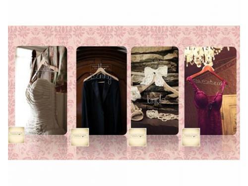 Ganchos personalizados para bodas