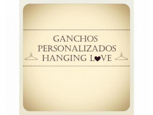 Hanging love ganchos personalizados