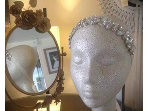 Diadema de perlas