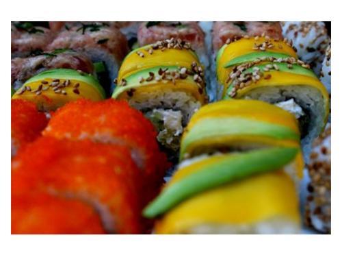 Variedad de sushis